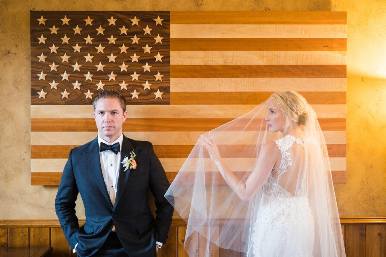 bride and groom joann moore wedding