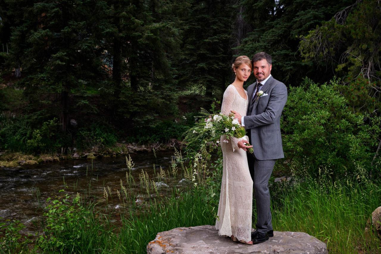 bride and groom gallery shot