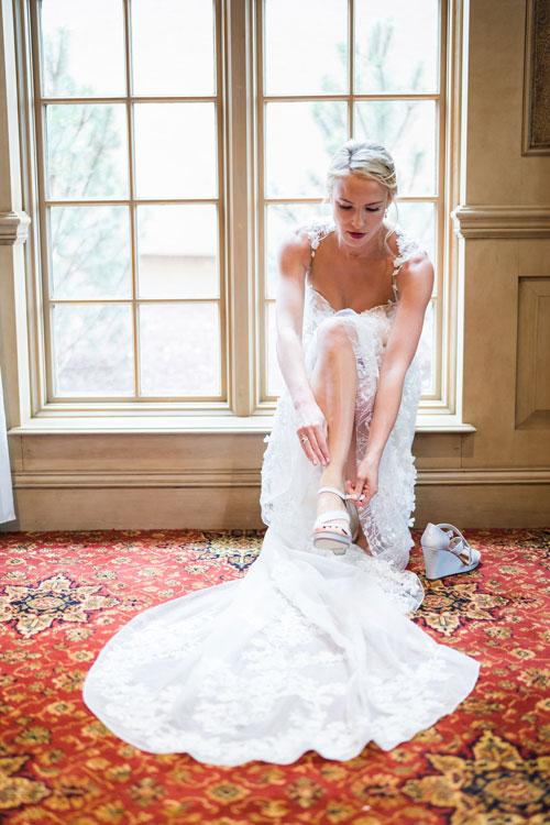 bride getting ready gallery photo