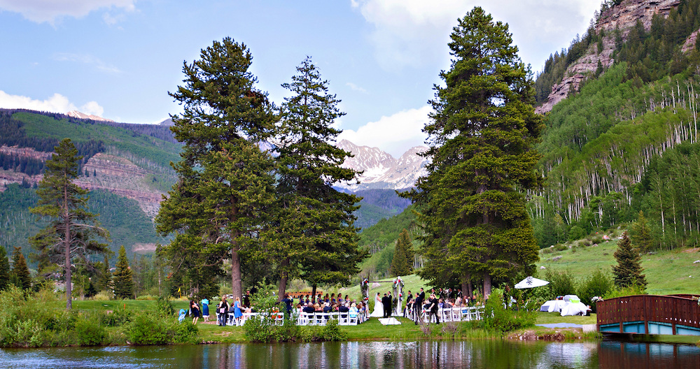Intimate Mountain Weddings