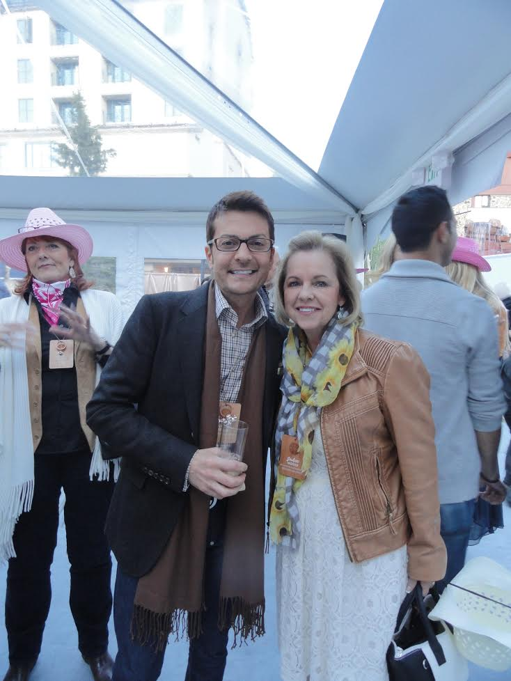 JoAnn Moore with Randy Fenoli