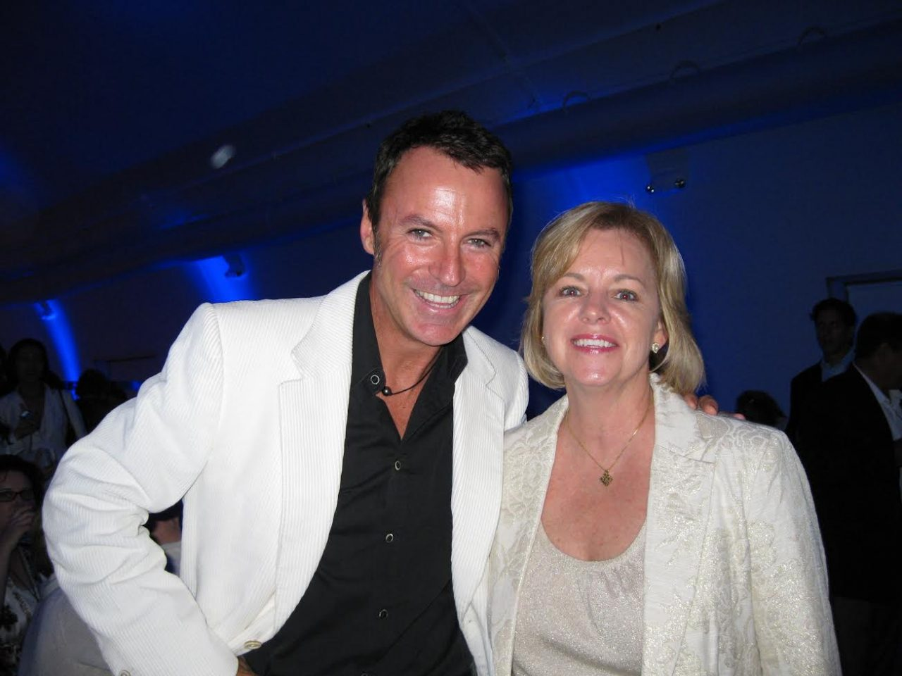 JoAnn Moore with Colin Cowie