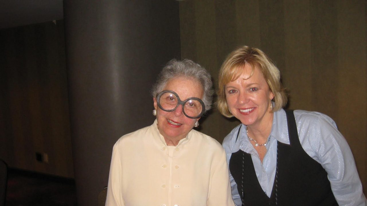 JoAnn Moore with Sylvia Weinstein