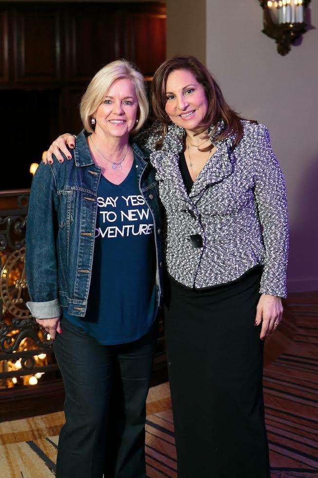 JoAnn Moore with Kathy Najimy
