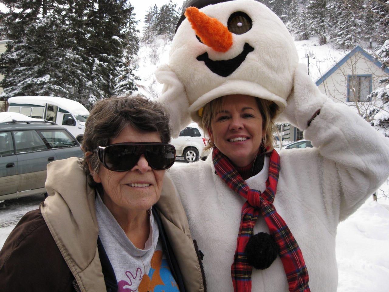 JoAnn's volunteer work with senior citizens